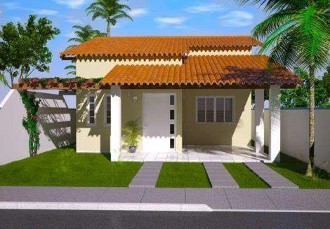 imagem 30 470x327 - Ideias para Fachada residencial simples em 30 fotos