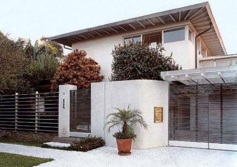 imagem 5 470x331 - Ideias para Fachada residencial simples em 30 fotos