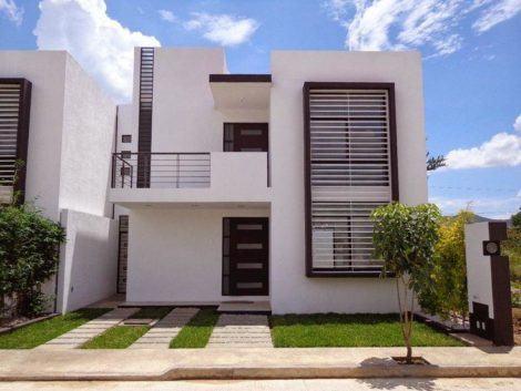 imagem 7 470x353 - Ideias para Fachada residencial simples em 30 fotos