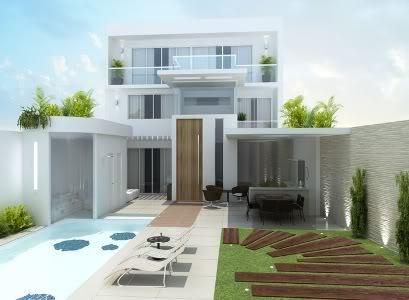 imagem 9 1 - Ideias para Fachada residencial simples em 30 fotos