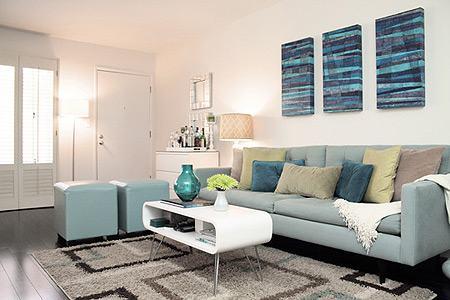 imagem 9 - Modelos de Puff decorativo para sala de estar coloridos e charmosos