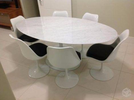 mesa oval 6 lugares 1 470x351 - MESA OVAL 6 lugares para sala de jantar