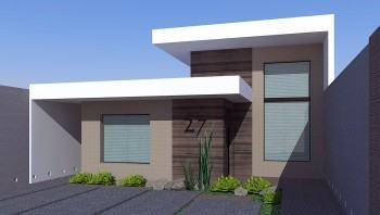 modelo de fachada residencial simples