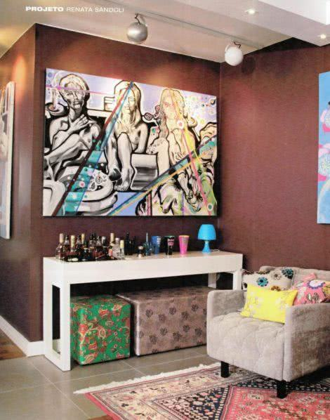 modelos de puffs 470x598 - Modelos de Puff decorativo para sala de estar coloridos e charmosos