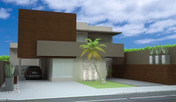 prejetos de fachada residencial simples