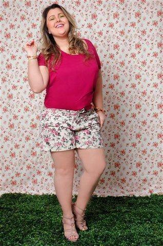 shorts de alfaiataria plus size 10 - Short de alfaiataria PLUS SIZE modelos com tamanhos especiais