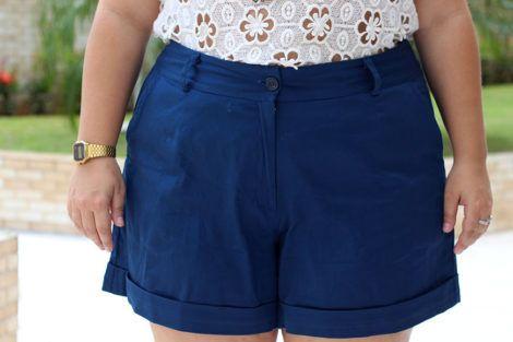 shorts de alfaiataria plus size 3 470x313 - Short de alfaiataria PLUS SIZE modelos com tamanhos especiais