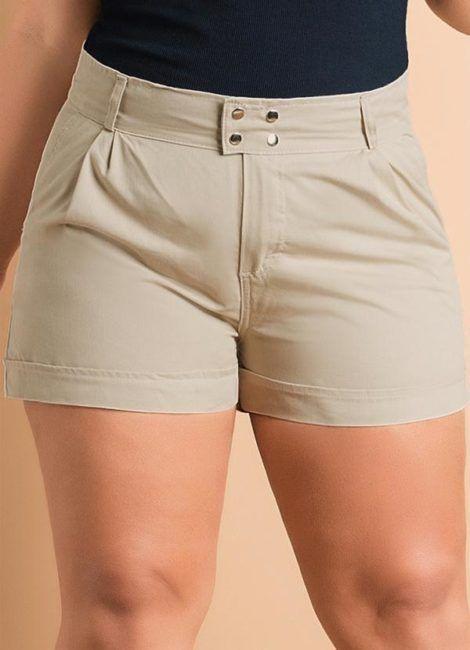 shorts de alfaiataria plus size 4 470x650 - Short de alfaiataria PLUS SIZE modelos com tamanhos especiais