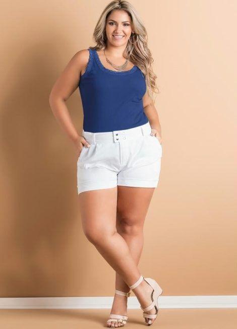 social shorts 23 470x650 - Short de alfaiataria PLUS SIZE modelos com tamanhos especiais