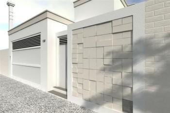 tipo de fachada residencial simples
