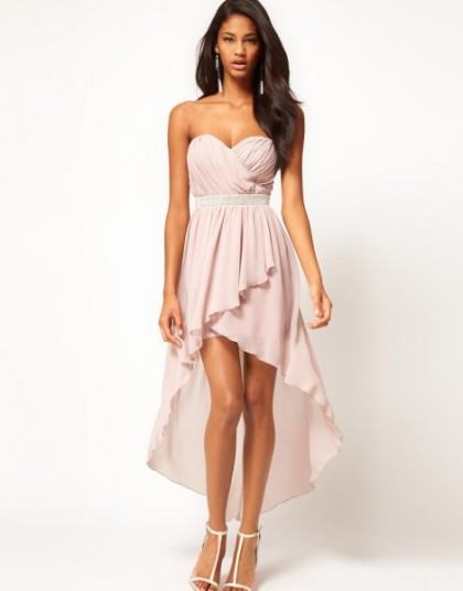 vestidos mullet rosa