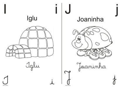letras do alfabeto para colorir com desenhos que possuem as letra no nome 420x297 - Letras do alfabeto para colorir para aprender brincando