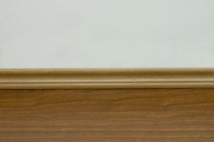 modelos de rodape de madeira simples