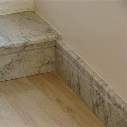 modelos de rodape de marmore para escadas