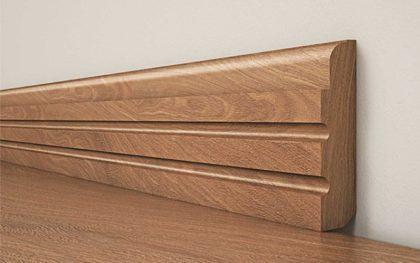 modelos de rodape em madeira rustica