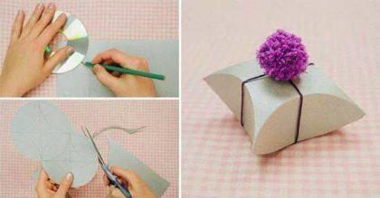 moldes para fazer caixinhas de lembrancinhas de papel 420x219 - Moldes para fazer caixinhas de lembrancinhas faça você