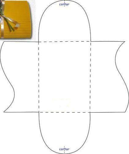 moldes para fazer caixinhas de lembrancinhas quadradas 420x503 - Moldes para fazer caixinhas de lembrancinhas faça você