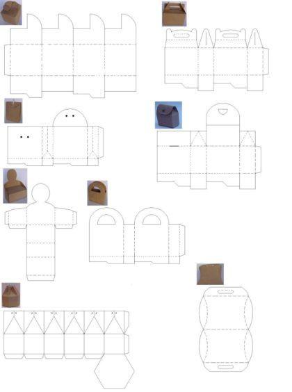 moldes para fazer diferentes tipos de caixinhas de lembrancinhas 420x564 - Moldes para fazer caixinhas de lembrancinhas faça você