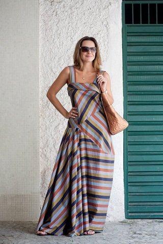 imagem 24 - VESTIDOS ESTAMPADOS DE MALHA moda primavera verão