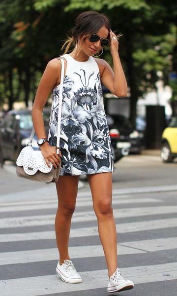 imagem 27 - VESTIDOS ESTAMPADOS DE MALHA moda primavera verão