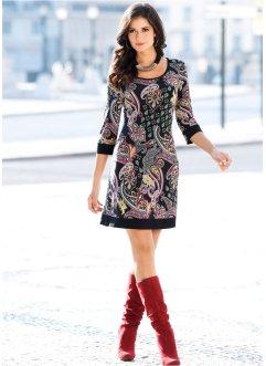 vestidos estampados de malha 2 - VESTIDOS ESTAMPADOS DE MALHA moda primavera verão