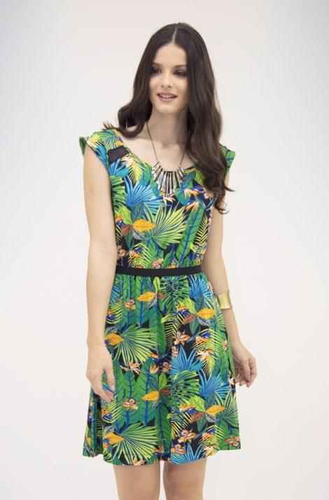 vestidos estampados de malha 6 470x714 - VESTIDOS ESTAMPADOS DE MALHA moda primavera verão