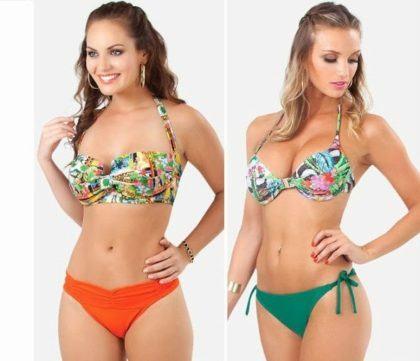 imagem 3 3 420x361 - Biquínis moda praia verão curta o sol praia e piscina