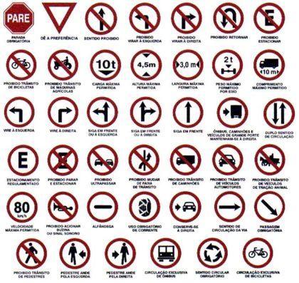placas de transito 420x397 - Placas de Transito para conhecer e imprimir