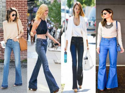 imagem 10 2 420x315 - CALÇAS FLARE JEANS moda feminina, como usa-las