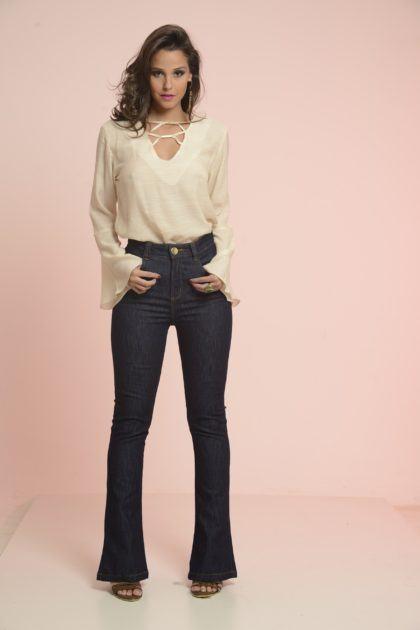 imagem 11 2 420x630 - CALÇAS FLARE JEANS moda feminina, como usa-las