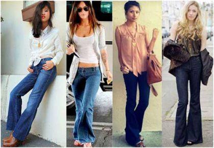 imagem 13 2 420x291 - CALÇAS FLARE JEANS moda feminina, como usa-las