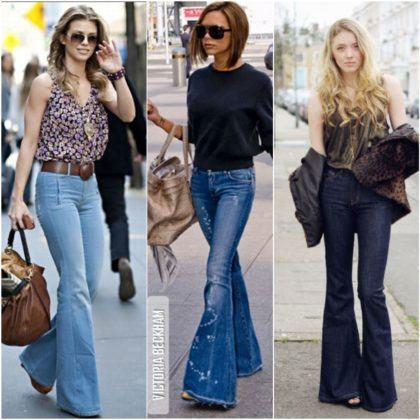 imagem 16 2 420x420 - CALÇAS FLARE JEANS moda feminina, como usa-las