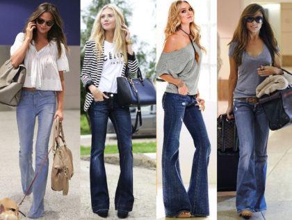 imagem 17 2 420x316 - CALÇAS FLARE JEANS moda feminina, como usa-las