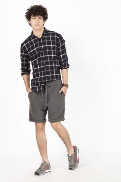 imagem 17 420x630 - Bermudas masculinas de moletom moda verão homem