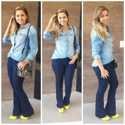 imagem 19 420x420 - CALÇAS FLARE JEANS moda feminina, como usa-las