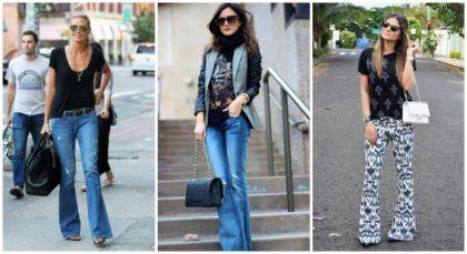 imagem 20 420x229 - CALÇAS FLARE JEANS moda feminina, como usa-las