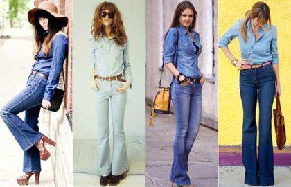 imagem 4 1 420x270 - CALÇAS FLARE JEANS moda feminina, como usa-las
