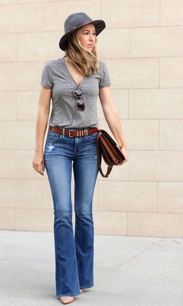 imagem 5 2 - CALÇAS FLARE JEANS moda feminina, como usa-las
