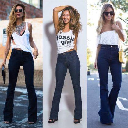imagem 6 2 420x420 - CALÇAS FLARE JEANS moda feminina, como usa-las