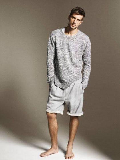 imagem 7 420x560 - Bermudas masculinas de moletom moda verão homem