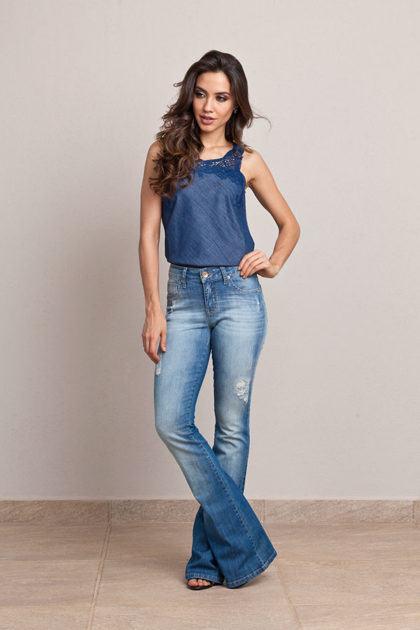 imagem 8 2 420x630 - CALÇAS FLARE JEANS moda feminina, como usa-las