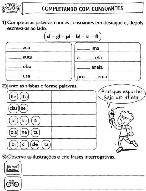 3%C2%B0 ANO ATIVIDADES GRAMATICA 863 470x612 - Atividades de Português para 3 ano para imprimir