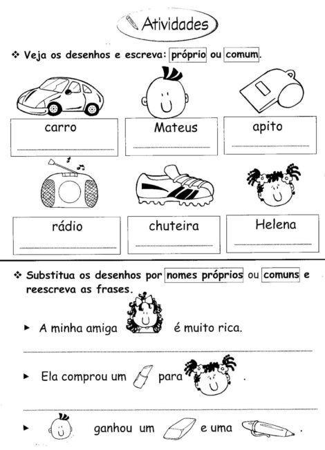 3%C2%B0 ANO ATIVIDADES GRAMATICA 886 470x652 - Atividades de Português para 3 ano para imprimir
