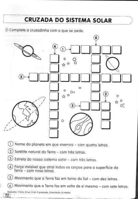 atividades sobre o sistema solar 470x679 - GEOGRAFIA Atividades sobre o Sistema Solar para imprimir