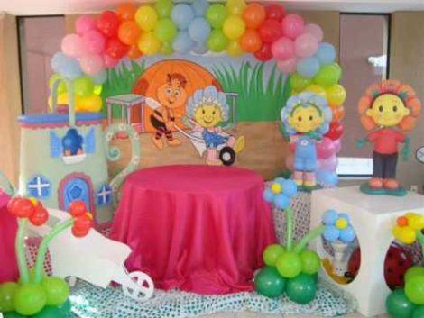 baloes para aniversario 470x353 - DECORAÇÃO COM BALÕES PARA ANIVERSÁRIO infantil