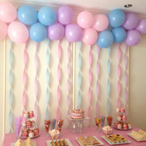 decoracao com baloes na parede para aniversario 470x470 - DECORAÇÃO COM BALÕES PARA ANIVERSÁRIO infantil