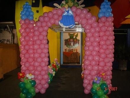 decoracao com baloes para aniversario - DECORAÇÃO COM BALÕES PARA ANIVERSÁRIO infantil