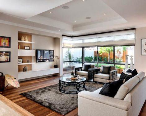 fotos decoracao de sala de estar espacosas 470x376 - DECORAÇÃO DE SALA DE ESTAR pequenas, para apartamentos, e grandes