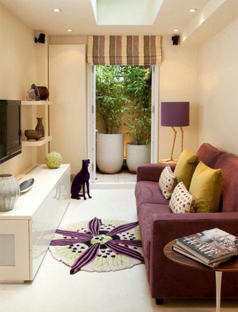 fotos salas pequenas 470x615 - DECORAÇÃO DE SALA DE ESTAR pequenas, para apartamentos, e grandes
