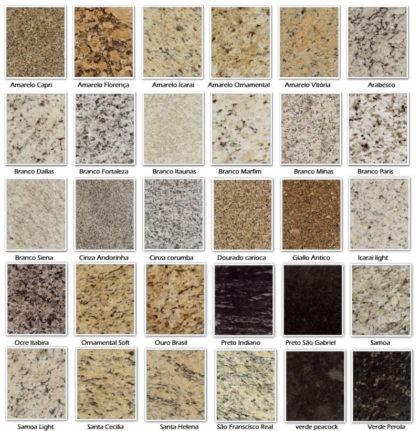 fotos tipos de granitos 420x431 - TIPOS DE GRANITO para cozinha, banheiro, churrasqueira